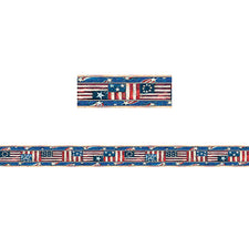 Patriotic Straight Border Trim from Susan Winget