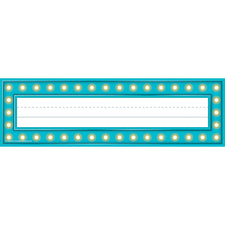 Marquee Name Plates