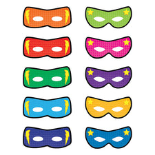 Superhero Masks Bulletin Board Accents