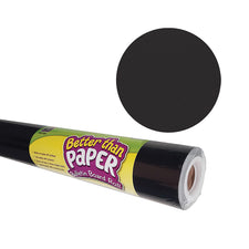 Black Better than Paper Bulletin Board Fabric, Four 4' x 12' Rolls