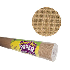 Burlap Better than Paper Bulletin Board Fabric, Four 4' x 12' Rolls