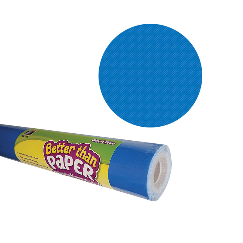 Royal Blue Better than Paper Bulletin Board Fabric, Four 4' x 12' Rolls