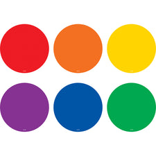 Colorful Circles Spot On Carpet Markers