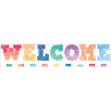 Watercolor Welcome Bulletin Board Set