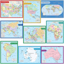 Map Charts, Set of 9