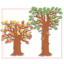 "Adjustable Classroom Tree Bulletin Board Set, 41"" To 65"""