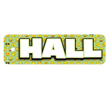 Plastic Hall Pass, Emoji Hall