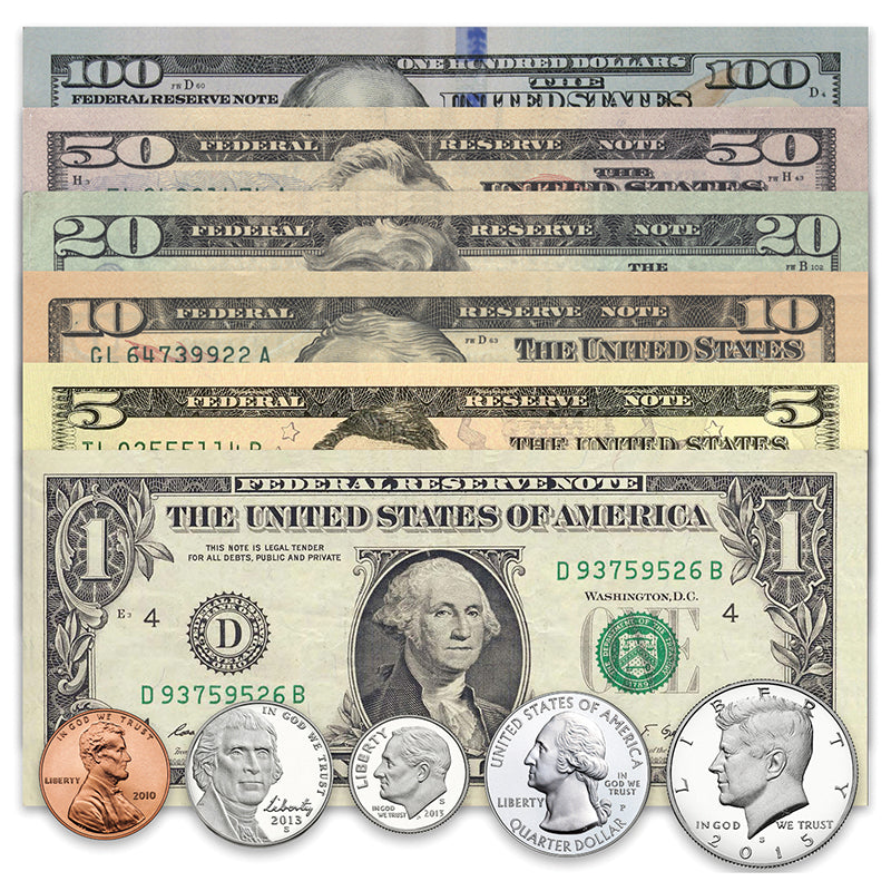 U.S. Currency Set