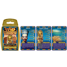 Top Trumps: Ancient Egypt Cards