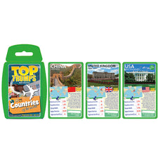 Top Trumps: Countries of the World Cards