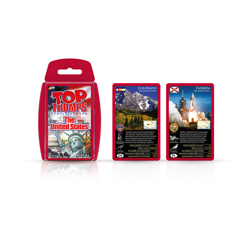 Top Trumps: The United States Cards