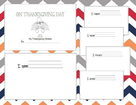 On Thanksgiving Day - Exploring the Holiday with Our Senses