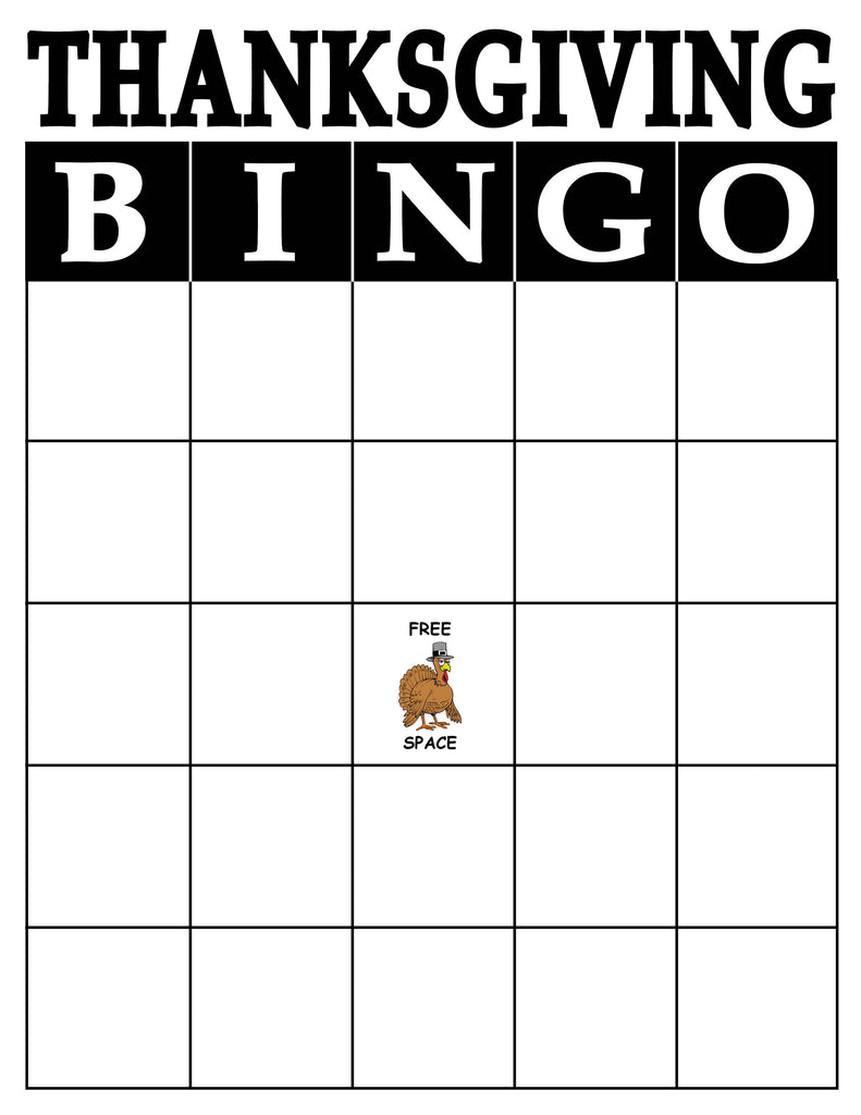 picture relating to Thanksgiving Bingo Printable identify Totally free Printable Thanksgiving Bingo Recreation! SupplyMe
