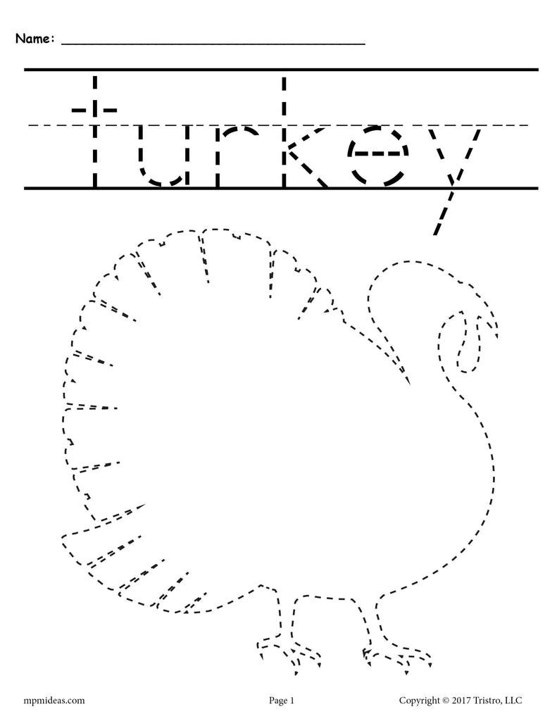 This is a picture of Astounding Printable Thanksgiving Worksheet