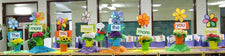 The More You Read, The More You Know! - Spring Classroom Display