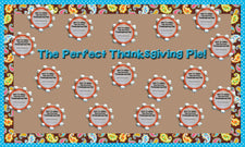 The Perfect Thanksgiving Pie! - Thanksgiving Writing Prompt & Bulletin Board