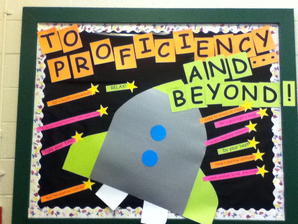 To Proficiency Amp Beyond Space Themed Back To School