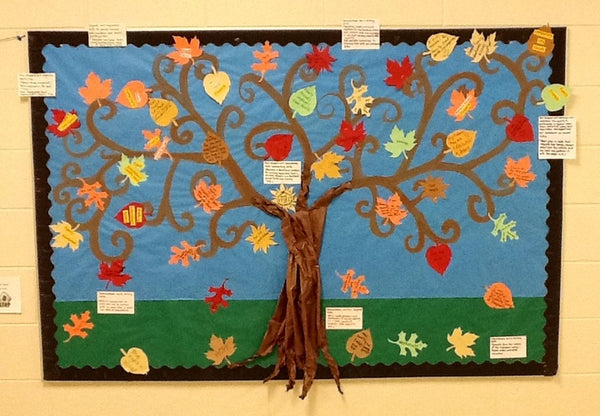 Tree of Thanks! - Back-to-School Bulletin Board – SupplyMe
