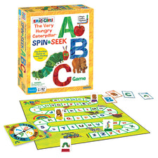 The Very Hungry Caterpillar Spin & Seek ABC Game
