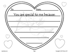 FREE Printable Valentine's Day Writing Activity!