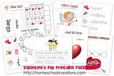 Valentine's Day Preschool Pack from Homeschool Creations