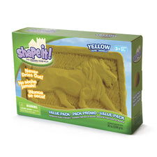 Yellow Shape It Sand, 5 Lb Box