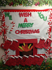 """We Wish You A Merry Christmas!"" Holiday Display"