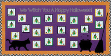 """We 'Witch' You A Happy Halloween!"" Bulletin Board Idea"