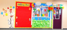 Welcome to Seussville! - Vibrant Dr. Seuss Display