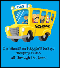 "Silly ""Wheels On The Bus"" Song & Activity"