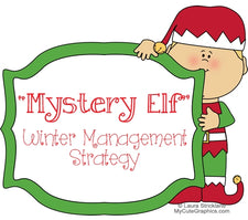 Mystery Elf - December Classroom Management Idea