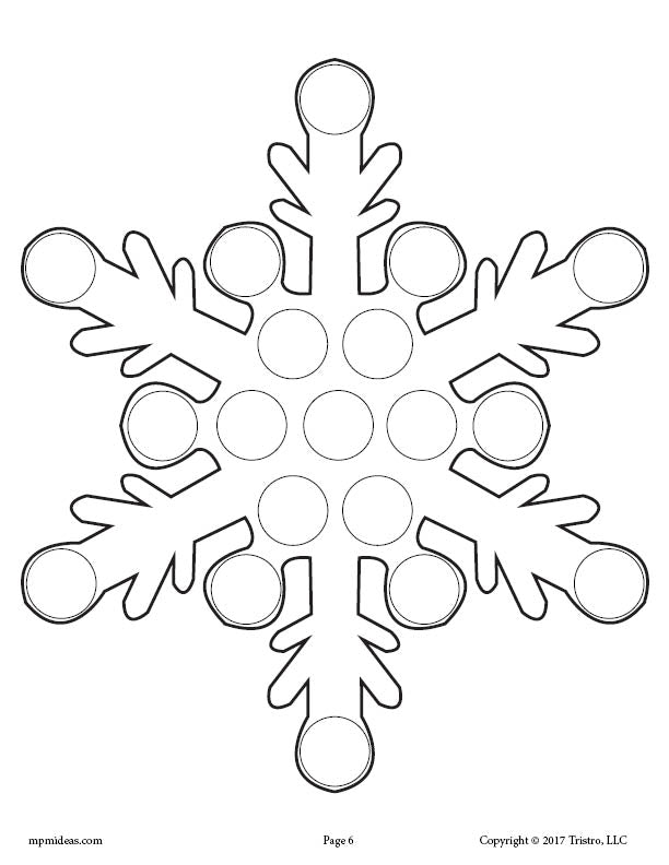 10 Winter Do A Dot Printables Supplyme