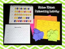 Winter Mitten Patterning Activity & Printables