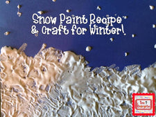 Guest Post - Snow Paint!