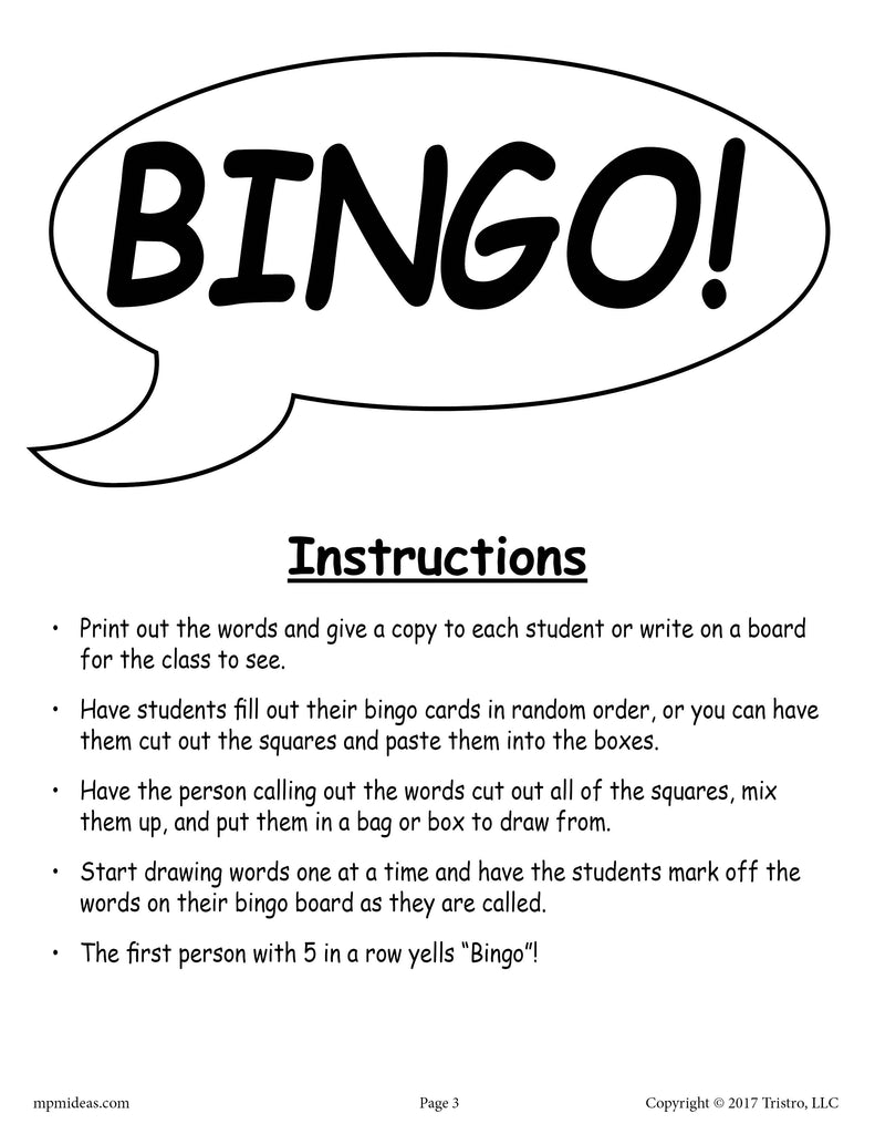 image about Winter Bingo Cards Free Printable named Winter season Bingo - Cost-free Printable Activity! SupplyMe