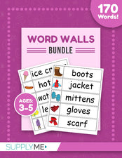 Word Walls Bundle - 170 Word Wall Words!