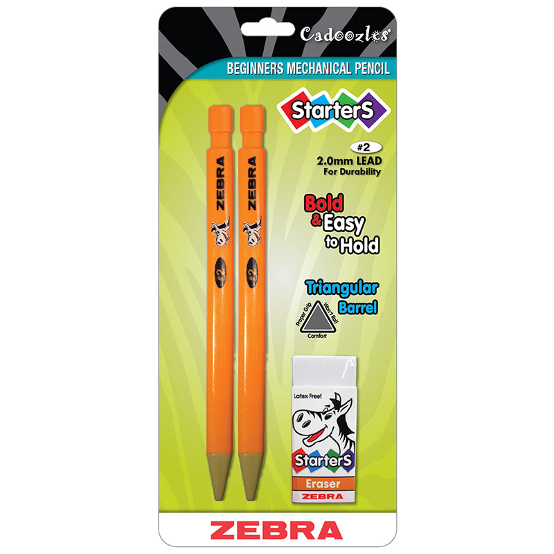 Cadoozles Starters Mechanical Pencil, 2.0mm (2 Pack)