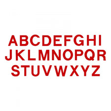 Sizzix® Bigz™ Die Set - Block Alphabet, Capital Letters, 3 1/2""