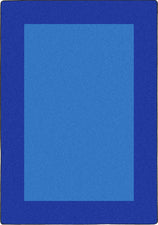 "All Around™ Blue Classroom Carpet, 7'8"" x 10'9"" Rectangle"