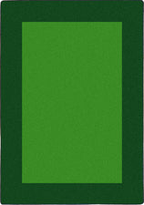 "All Around™ Green Classroom Carpet, 7'8"" x 10'9"" Rectangle"