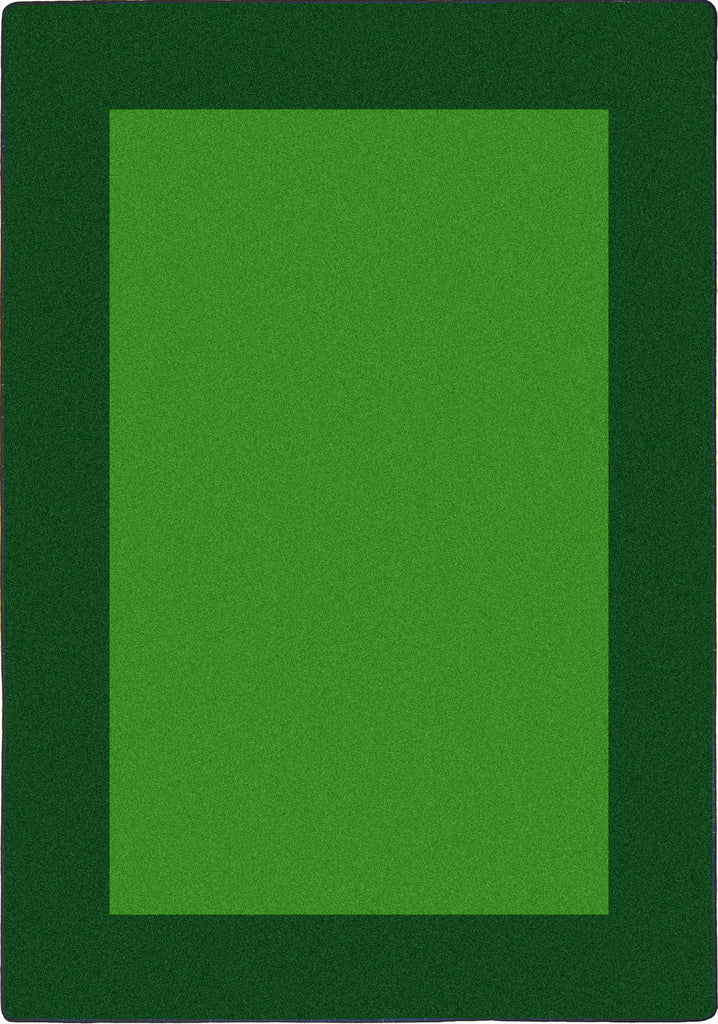 "All Around™ Green Classroom Carpet, 5'4"" x 7'8"" Rectangle"