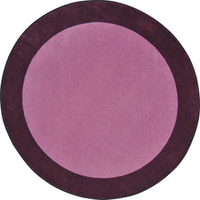 "All Around™ Purple Classroom Carpet, 7'7"" Round"