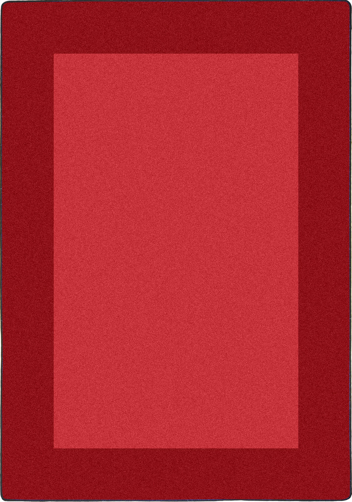 "All Around™ Red Classroom Carpet, 5'4"" x 7'8"" Rectangle"