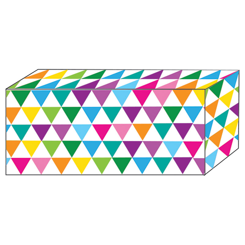 Color Triangles Block Magnet