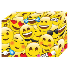 "Emojis Poly Index Card Box, 3"" x 5"""