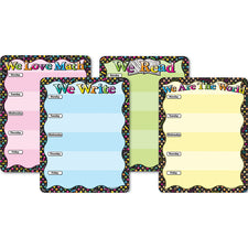 WE… Smart Poly™ Charts, Set of 4
