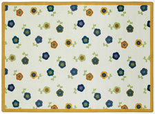 "Awesome Blossom© Classroom Rug, 3'10"" x 5'4"" Rectangle Bold"