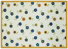 "Awesome Blossom© Classroom Rug, 7'8"" x 10'9"" Rectangle Bold"