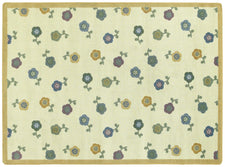 "Awesome Blossom© Classroom Rug, 3'10"" x 5'4"" Rectangle Soft"