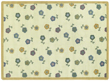 "Awesome Blossom© Classroom Rug, 5'4"" x 7'8"" Rectangle Soft"